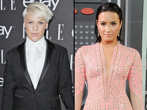 Pink Stands By Critical VMA Comments, Assures Followers She Has 'No Issue' with Demi Lovato: 'Look for a Feud Elsewhere'