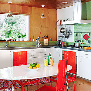 10 favorite colorful kitchens