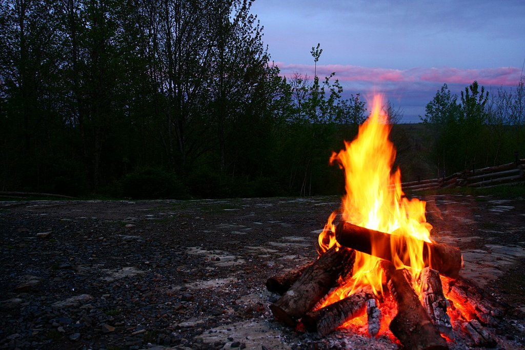 Tell Scary Stories by the Campfire