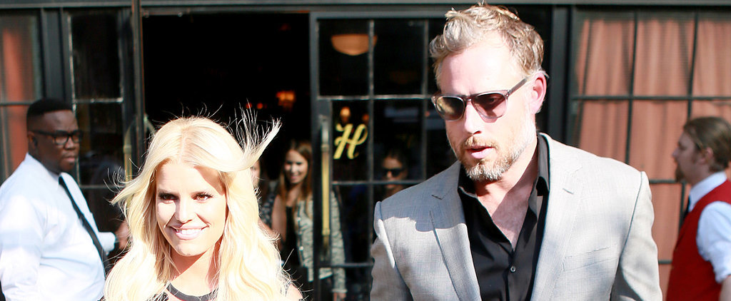 Jessica Simpson and Eric Johnson Hold Hands During an NYC Outing