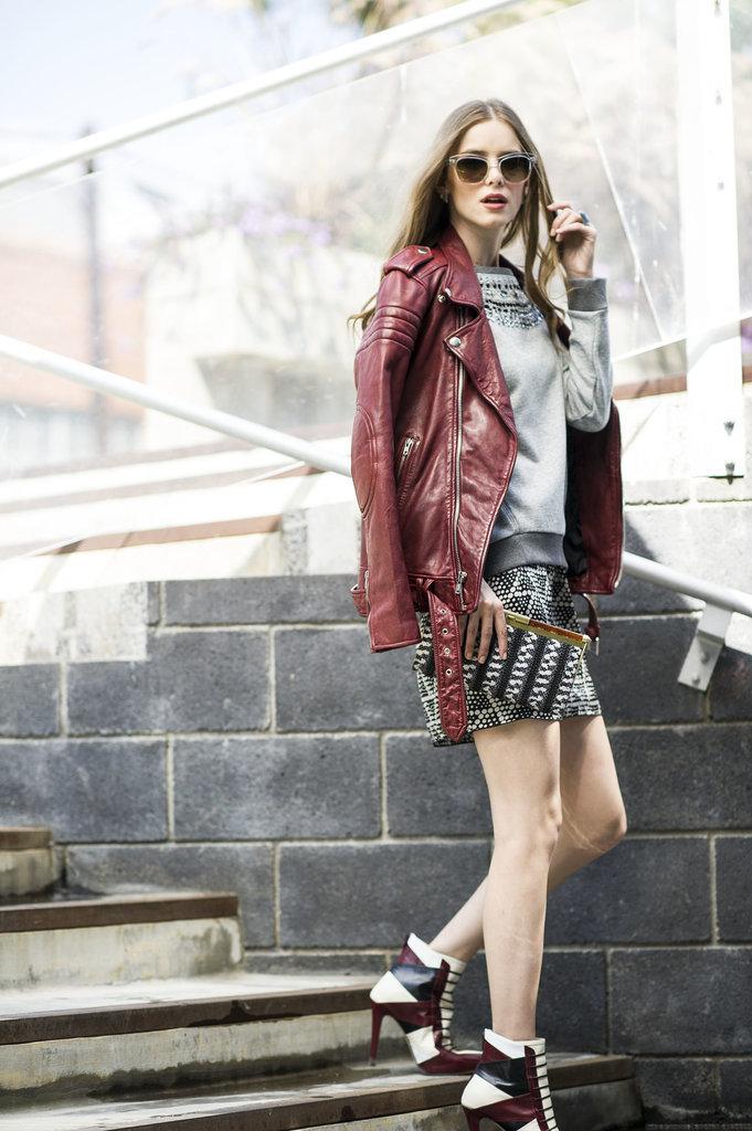 Ways to Wear a Leather Jacket