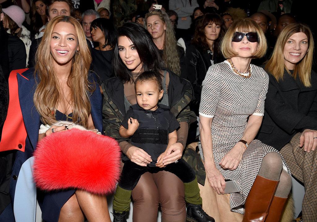 Beyonce, Kim Kardashian, and North West