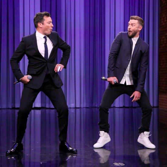 Justin Timberlake and Jimmy Fallon History of Rap 6
