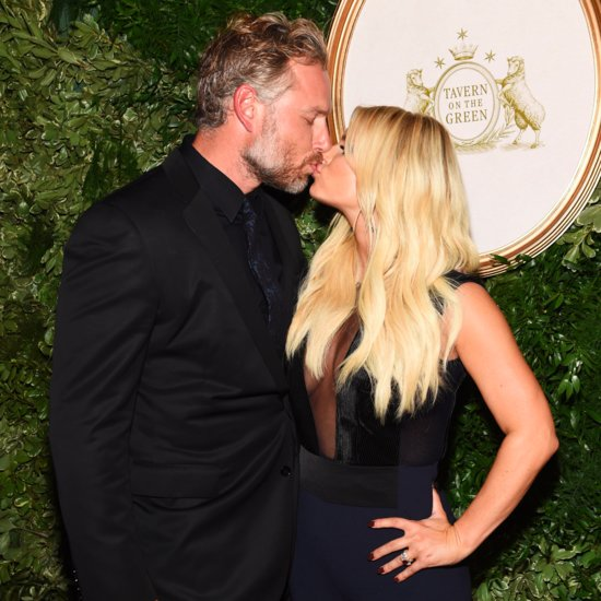 Jessica Simpson and Eric Johnson at Anniversary Event in NYC