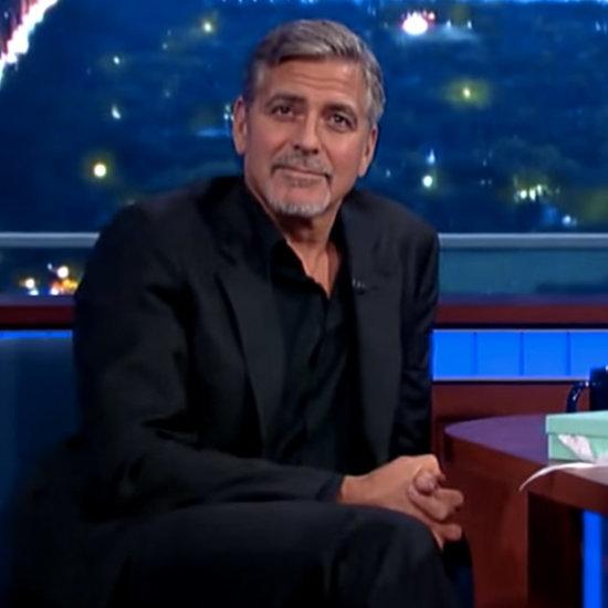 George Clooney on Stephen Colbert September 2015