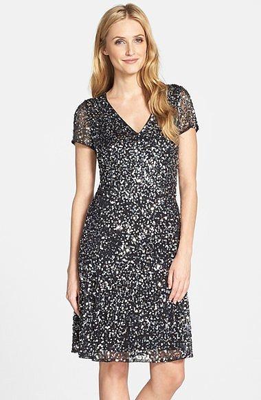 Pisarro Nights Sequin Sheath Dress ($198)