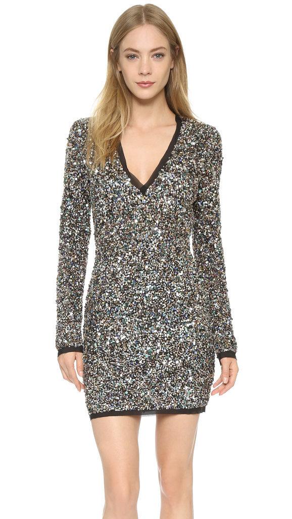 Rachel Zoe Micah V Neck Sequin Dress ($795)