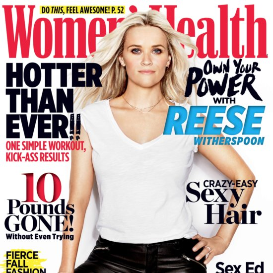 Reese Witherspoon on Women's Health Cover | October 2015