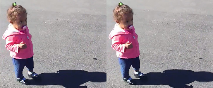 Why This Video of a Little Girl and Her Shadow Is Going Viral