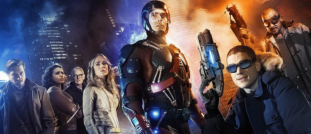 DC's Legends of Tomorrow: Here's Your First Look at Hawkman and Hawkgirl!