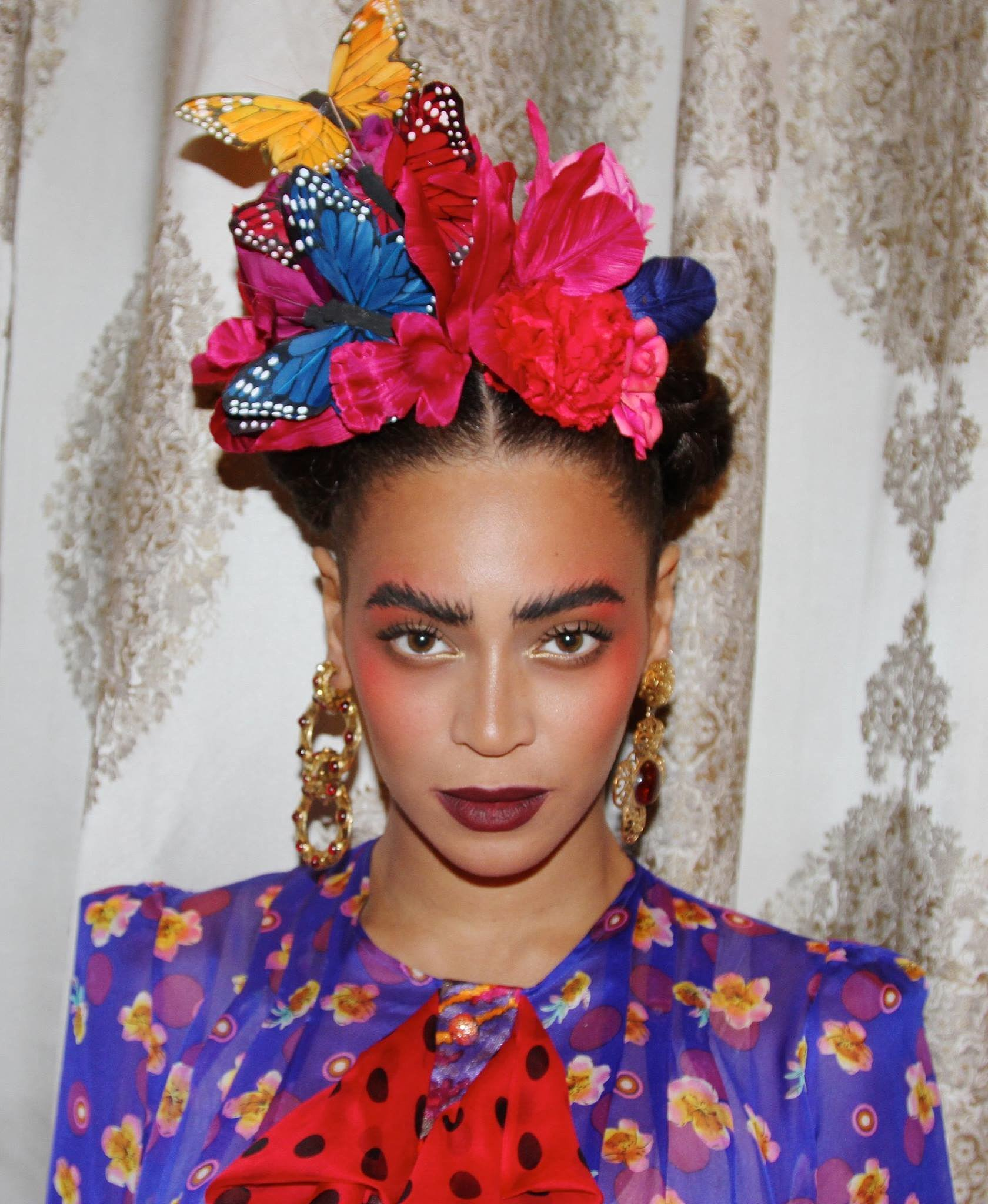 Of course a frida kahlo costume roundup wouldn t be complete without 11 real girl frida kahlo - Deguisement frida kahlo ...