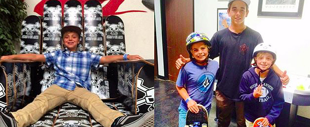 Britney Spears Celebrates Sean and Jayden's Birthdays With a Trip to the Skate Park