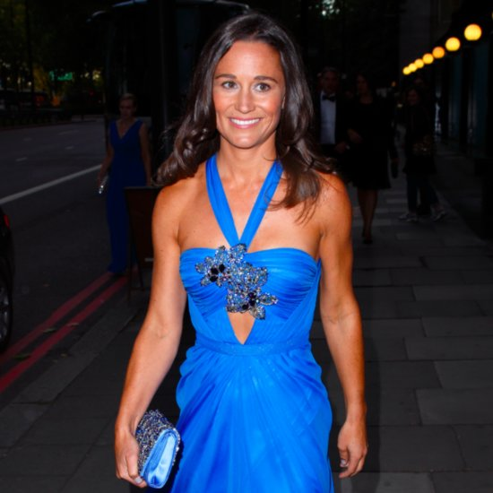 Pippa Middleton Looked Regal in This Stunning Blue Gown