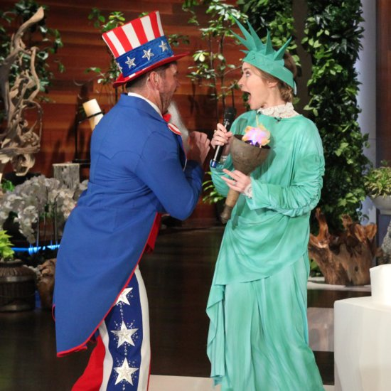 Emily Blunt Gets an Epic and Hilarious Scare From Ellen DeGeneres