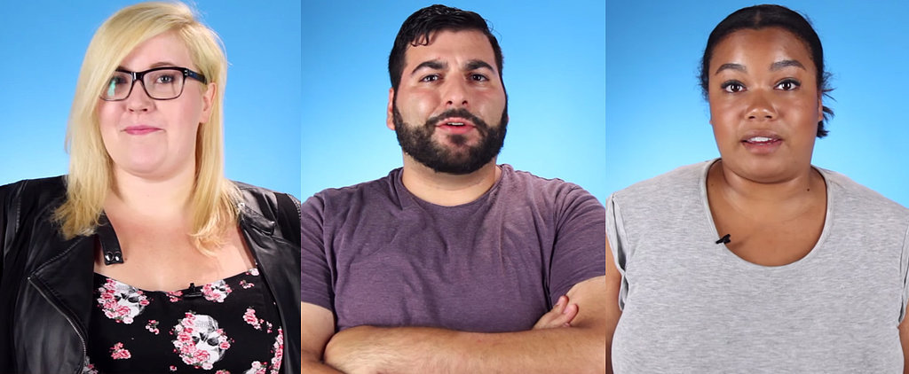 "Watch 5 Overweight People Complete the Sentence: ""I'm Fat, but I'm Not . . . """
