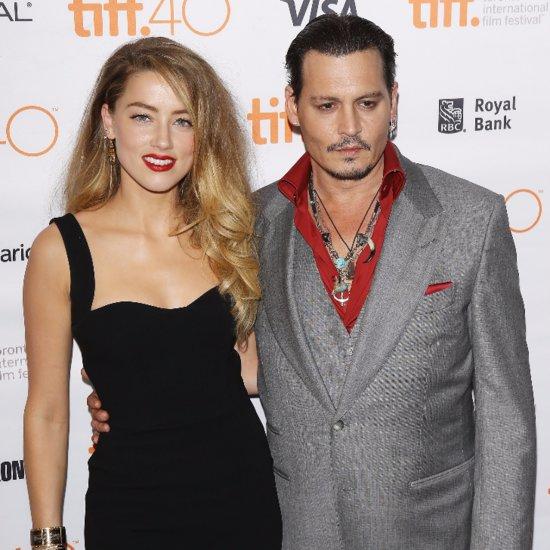 Johnny Depp Amber Heard Black Mass Premiere Pictures TIFF
