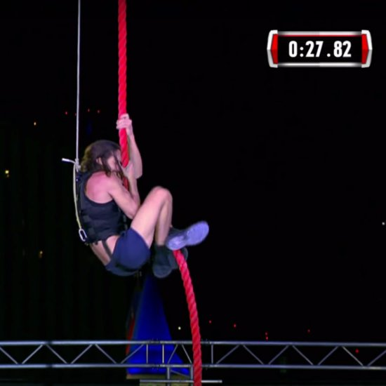 First Person Completes American Ninja Warrior Final Course