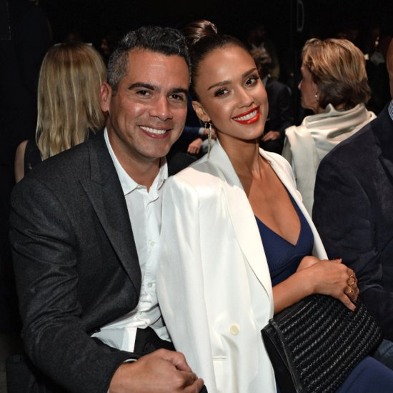 Jessica Alba Cash Warren NYFW Date Night September 2015