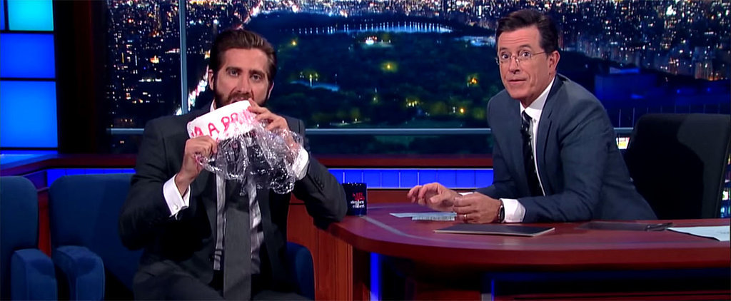 Jake Gyllenhaal Has a Hilarious Response to Amy Schumer's Cake Eating Confession