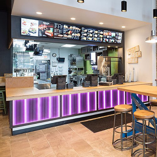Photos of Taco Bell's First Cantina Restaurant