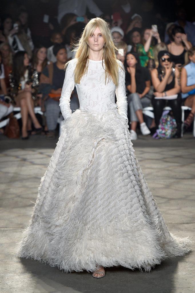 Wedding Outfit Ideas Spring : Wedding dress ideas from spring runways popsugar
