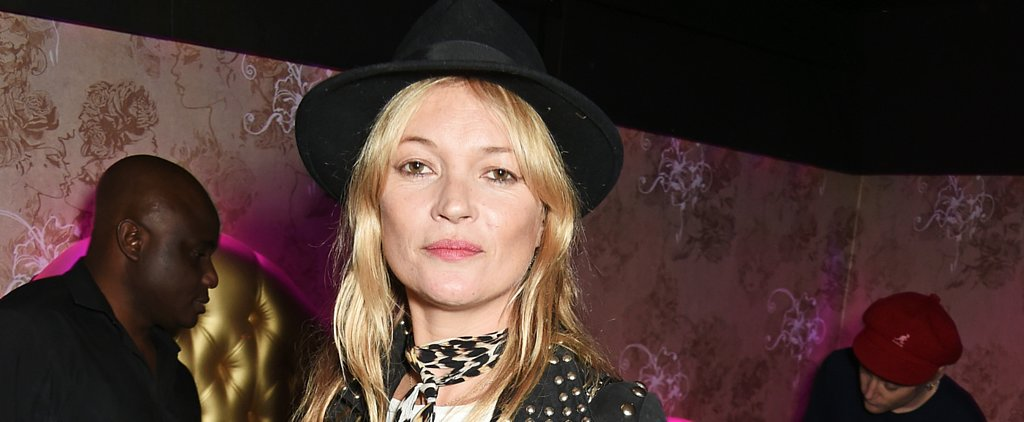 Kate Moss Has a Solo Night Out Ahead of London Fashion Week
