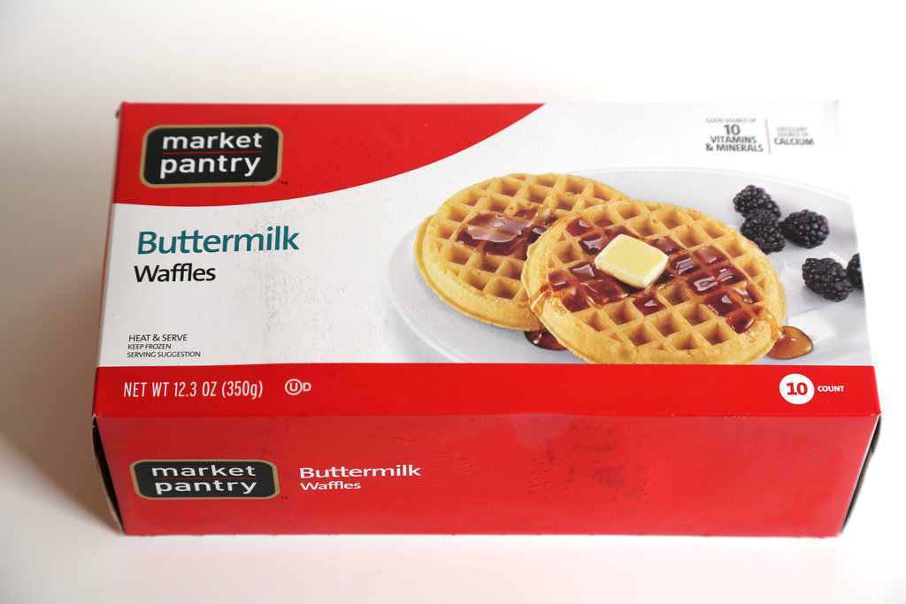 Market Pantry Buttermilk Waffles ($2)