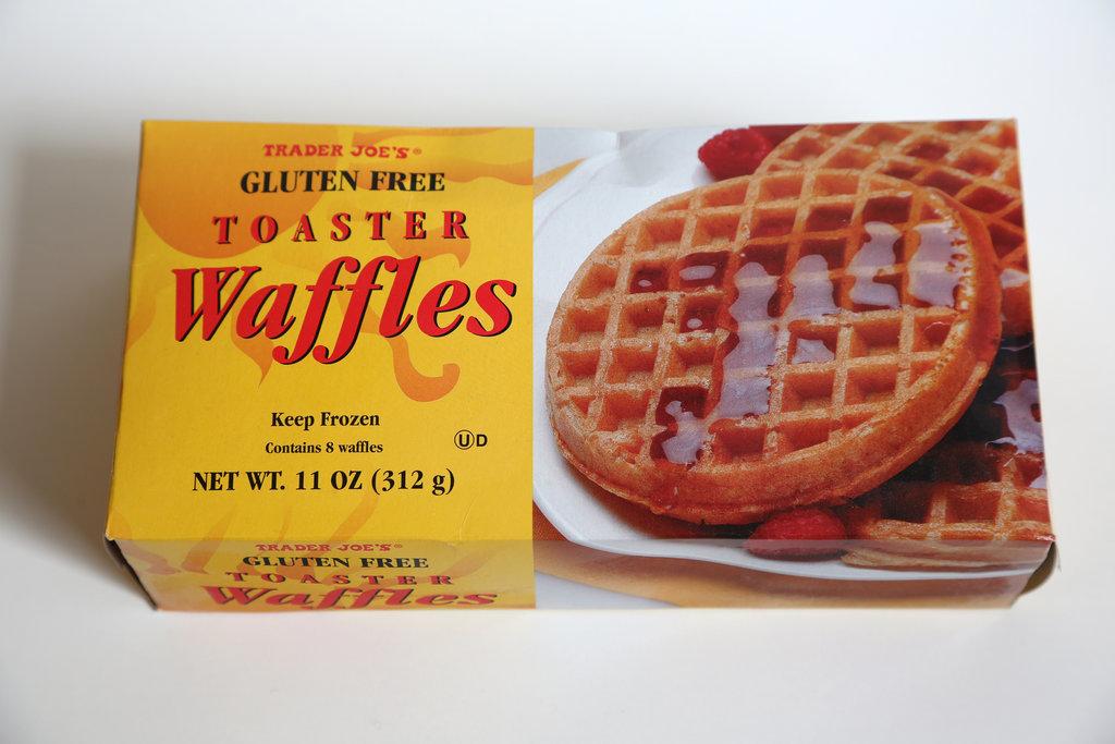 Trader Joe's Gluten Free Toaster Waffles ($2)