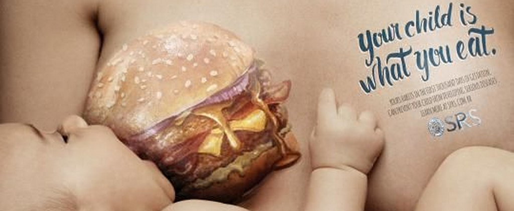 New Breastfeeding Campaign Shames Moms For Eating Junk Food