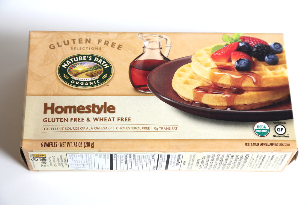 Nature's Path Gluten Free Homestyle Waffles ($4)