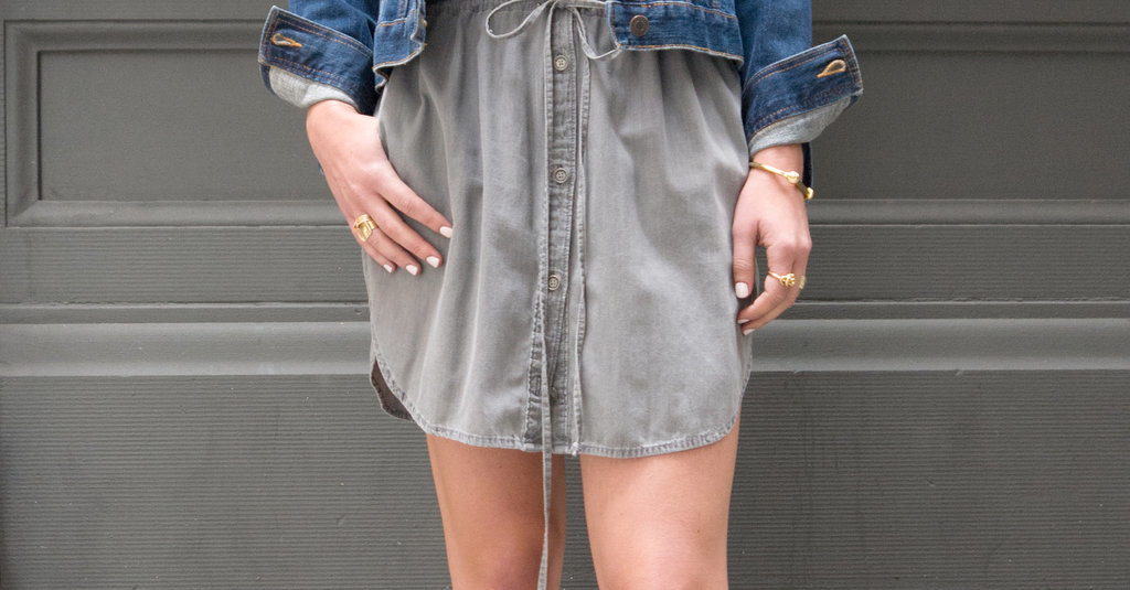 Here's Where Your Hemline Should Hit If You're Petite