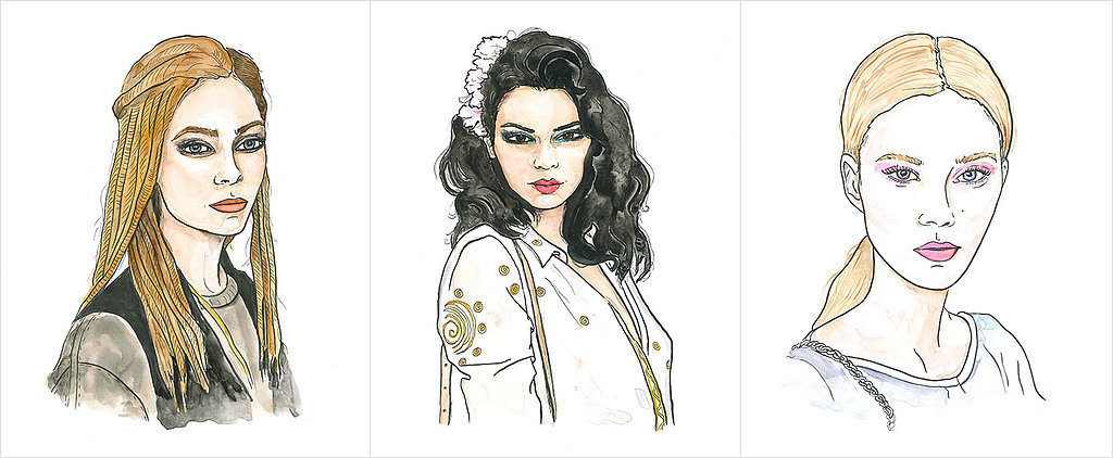 10 Mesmerizing Moments From Fashion Week in Illustrated Form