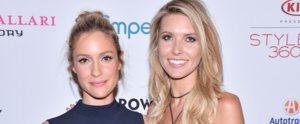 Kristin Cavallari and Audrina Patridge Have a Hills Reunion at NYFW!