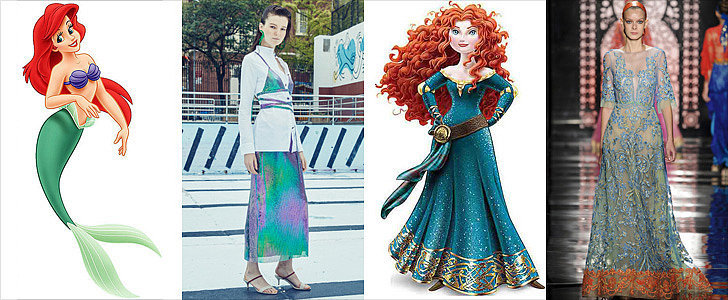 17 Disney Princess Gowns Straight From the Spring '16 Runways