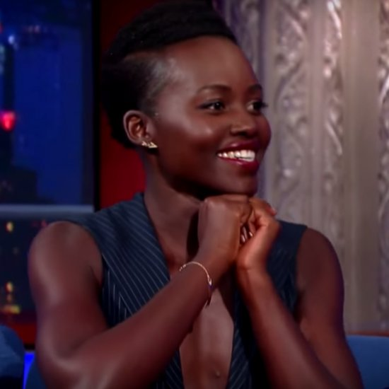 Lupita Nyong'o Does Silly Walks on The Late Show | Video