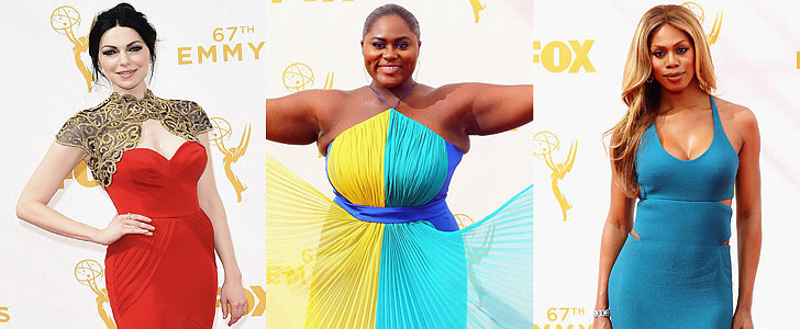 The OITNB Stars Didn't Wear a Drop of Orange on the Emmys Red Carpet