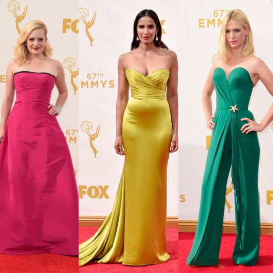 Rainbow Dresses at Emmys 2015