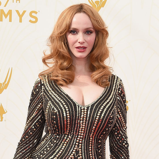 Christina Hendricks's Reaction to Jon Hamm Emmy Win