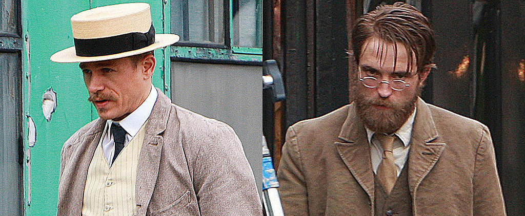 Charlie Hunnam and Robert Pattinson Prove They Can Rock Any Kind of Facial Hair