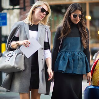 Street Style bei der London Fashion Week September 2015