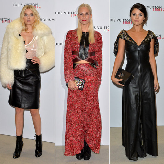 Celebs at Louis Vuitton's London Fashion Week Party