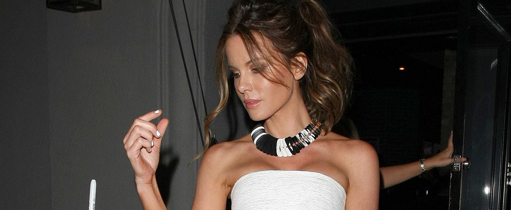 You Won't Want to Pack Away Your Summer Dresses When You See Kate Beckinsale in This