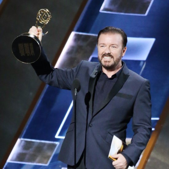 Did You See Ricky Gervais's Emmys Antics?