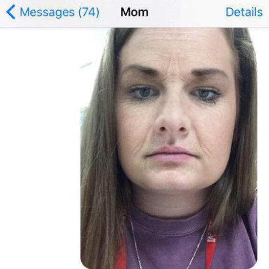 Snapchat Filter Scares Mom