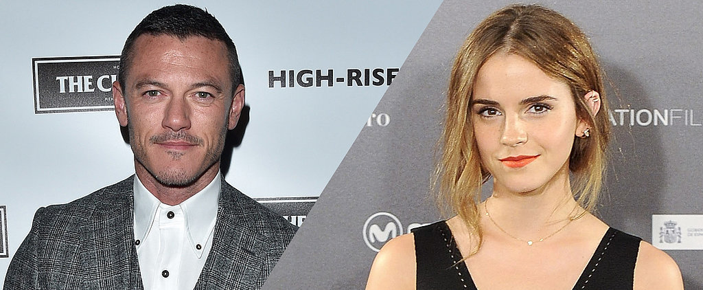"Luke Evans Says Emma Watson ""Encapsulates Everything a Disney Princess Should Be"""