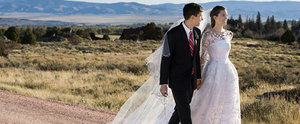 Allison Williams Shares a Gorgeous Picture of Her Ranch Wedding