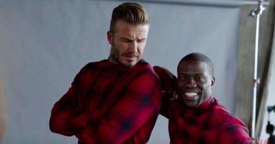 Kevin Hart Does His Best David Beckham Impression For H&M