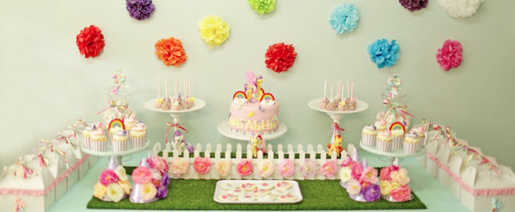 This May Just Be the Cutest My Little Pony-Themed Birthday Party Ever