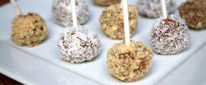 Bite-Size Caramel Apples Made Without an Ounce of Sugar or Dairy