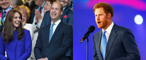 Will, Kate and Harry Bring Their Biggest Smiles to the Rugby World Cup